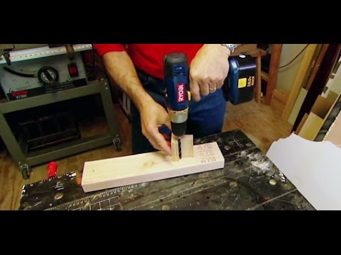 Create a Simple Jig for Drilling Perpendicular Holes of the Same Depth