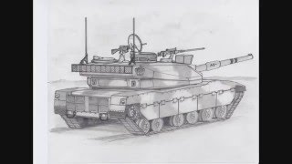 How to Draw a Tank (Concept Sketch)
