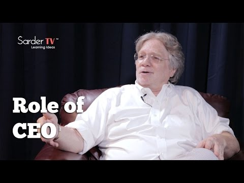 What is the role of a CEO? by David S. Rose, Author of Angel Investing