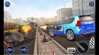 US Police Hummer Car Quad Bike Police Chase Game - Android Gameplay HD