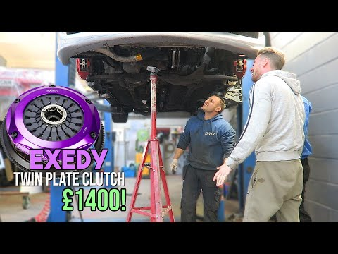 EXEDY Twin Plate Clutch Install on The EVO!