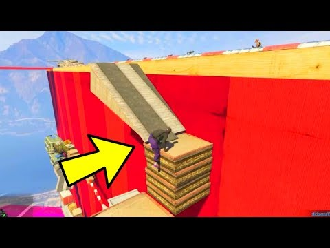 GTA 5 Online - COOLEST FANMADE PARKOUR EVER !?