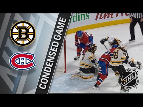 01/13/18 Condensed Game: Bruins @ Canadiens