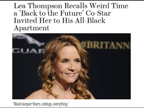 """Crispin Glover Responds to Lea Thompson Article: """"My Floors Weren't Black!"""""""