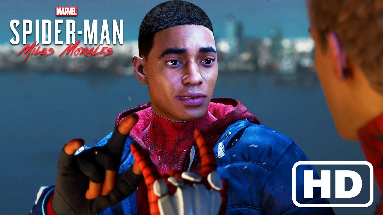 Miles Promises Peter To Protect New York (Spider-Man: Miles Morales) HD