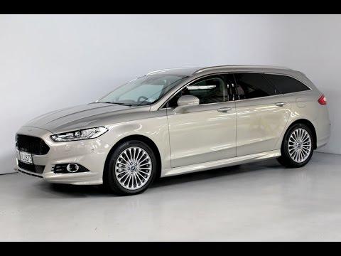2015 Ford Mondeo Titanium Wagon Team Hutchinson Ford Youtube