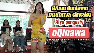 Hitam duniamu putihnya cintaku cover Alya pangesty OQINAWA || Anniversary BKRC Banyumas