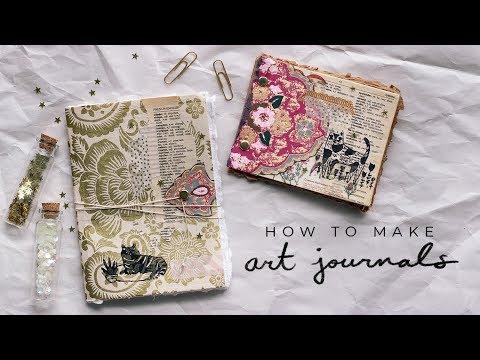DIY art journals ☆
