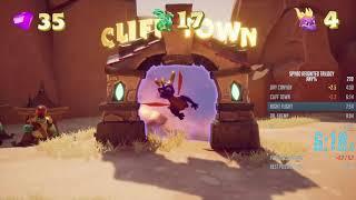 Spyro Reignited Trilogy Spyro the Dragon Any% Speedrun in 28:56 IGT (54:27 RTA)