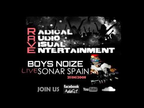 BOYS NOIZE LIVE @ SONAR SPAIN [21/06/2008] HQ