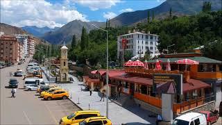 İspir, Erzurum - Havadan Görüntüler [HD]