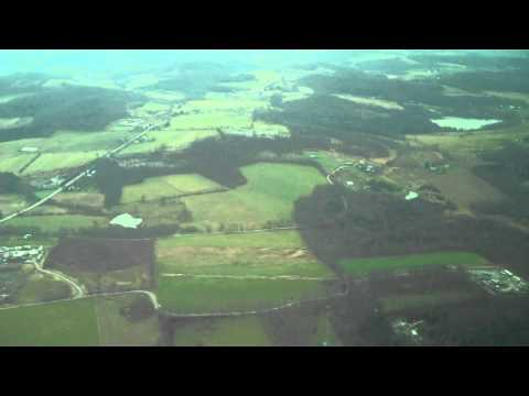 Aerial View of Fracking Sites in Dimock, PA
