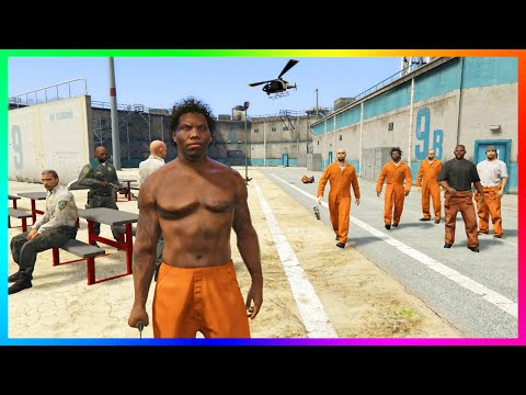 GOING TO PRISON IN GTA 5! - ULTIMATE PRISON LIFE W/ GANG SYS