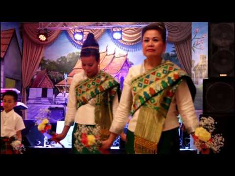 Lao Traditional Dance - ຟອ້ນດອກໄມ້ - Minnesota