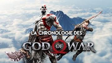 La CHRONOLOGIE des GOD OF WAR ⚔