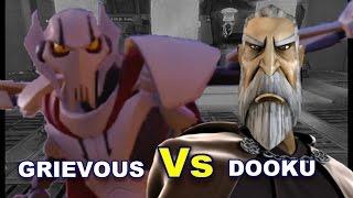 Lightsaber Duels General Grievous vs Count Dooku