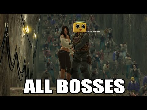 Dead Rising - All Psychopaths & Bosses (With Cutscenes) HD 1080p60 PC
