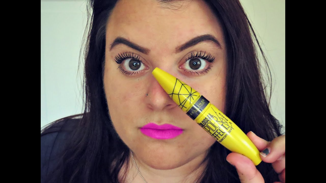7c15a04f526 FIRST IMPRESSION: MAYBELLINE COLOSSAL SPIDER EFFECT MASCARA!! - YouTube