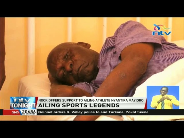 NOCK offers support to ailing athlete Nyantika Mayioro
