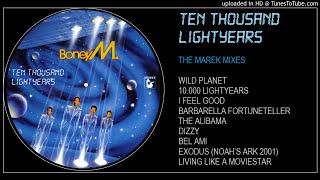 Boney M 10 000 Lightyears The Marek Mixes