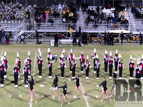 Donaldsonville High School Halftime Show vs Scotlandville 2014