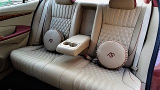 Luxury Cars Interior Design | Honda City Leather Car Seat Covers