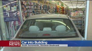 Car Crashes Into Sacramento Dollar Tree, Injuring 6 People
