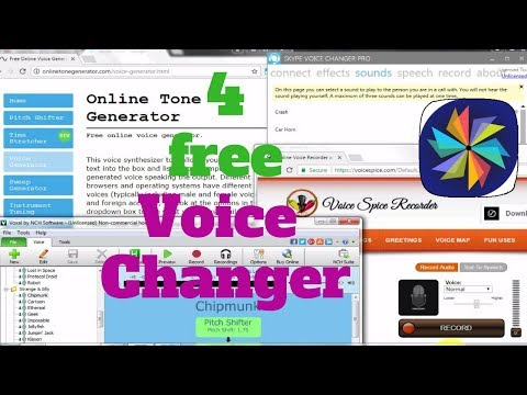 best voice changer software for windows 10