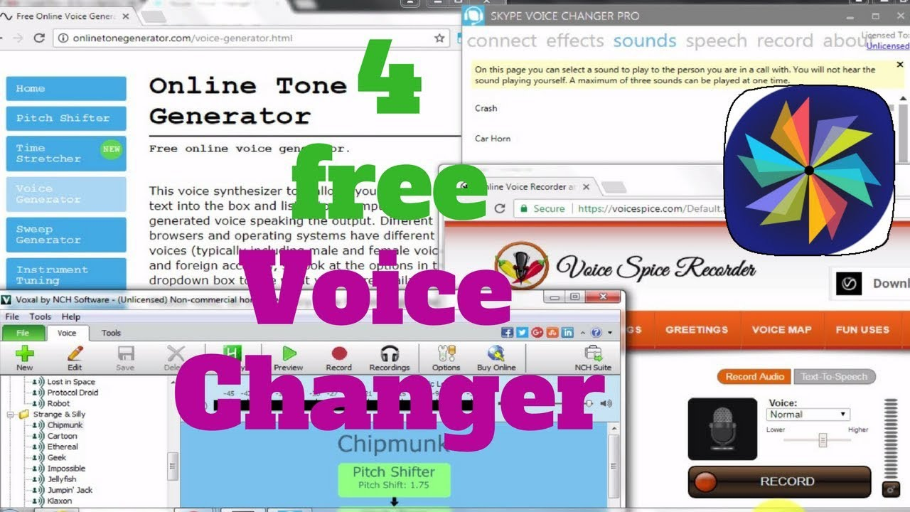 voice changer app free download for pc