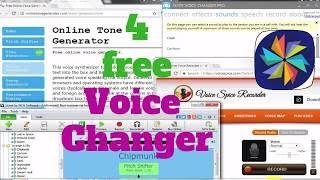 Top 4 Best Free Voice Changer (Windows / Mac)
