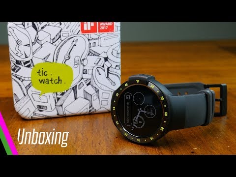 TicWatch S Unboxing, Setup and First Impressions of Android Wear 2.0