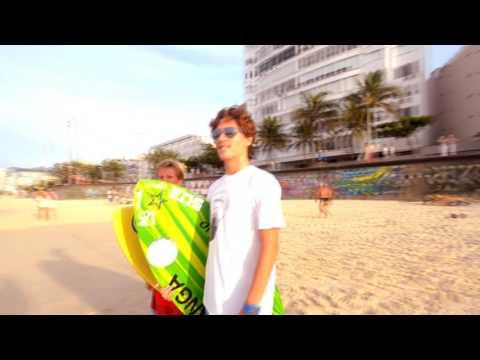 Rio de Janeiro - Last Summer Pro Wave Skimboarding Web Series from Brazil Kids