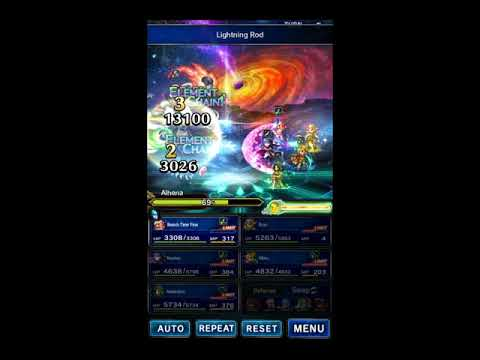 FFBE: Alhena, Budget Clear, All Missions
