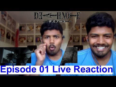Light & Ryuk - Death Note Anime Episode 1 Live Reaction