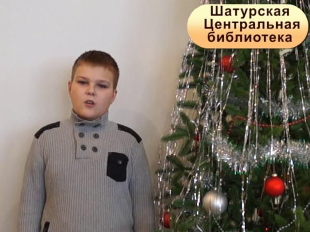 Изображение предпросмотра прочтения – ИванБужин читает отрывок изпроизведения «Мороз, Красный нос» Н.А.Некрасова