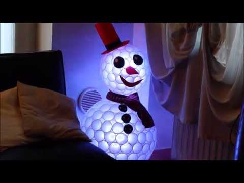 more diy ideas to make the plastic cup snowman