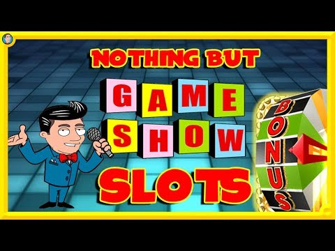 BIG ONLINE SESSION! Nothing but GAME SHOW Slots! - 동영상