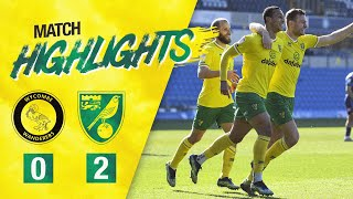 HIGHLIGHTS | Wycombe Wanderers 0-2 Norwich City