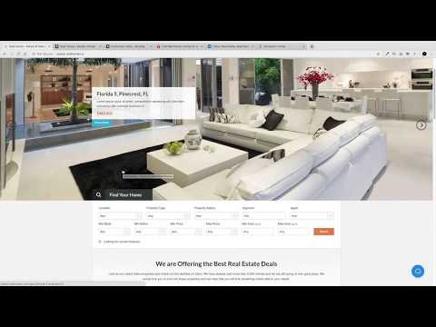 How To Make A Real Estate Website With WordPress