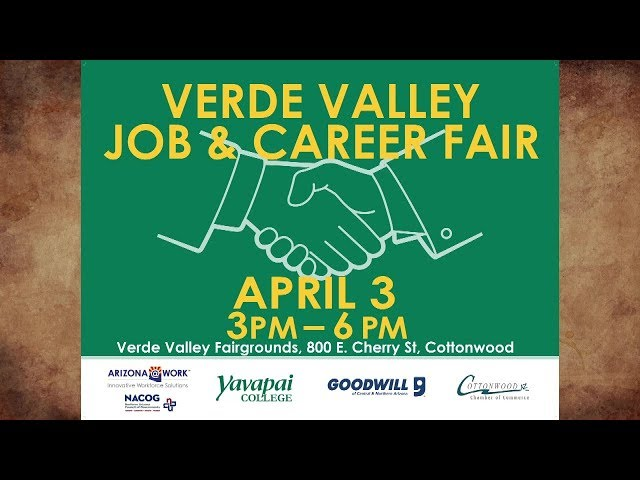 Rediscover the Verde Valley March 2019 VV Job Career and Volunteer Fair
