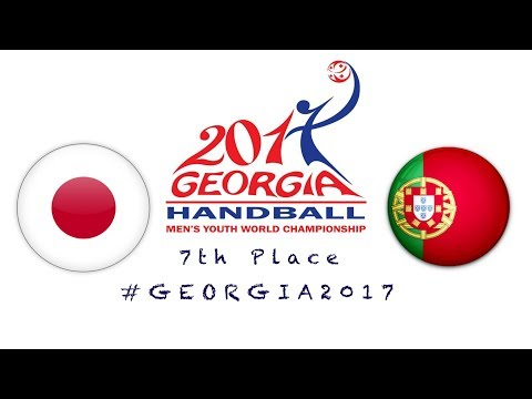 Japan - Portugal (7th Place) IHF Men's Youth World Championship