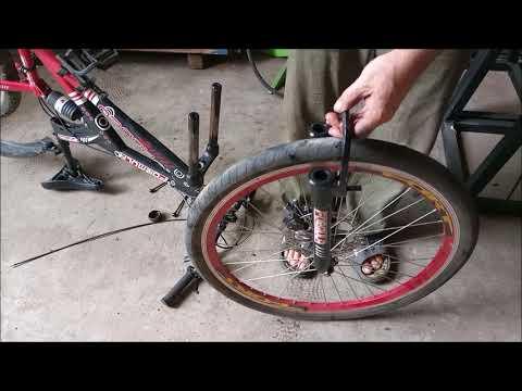 Велосипед. Ремонт вилки