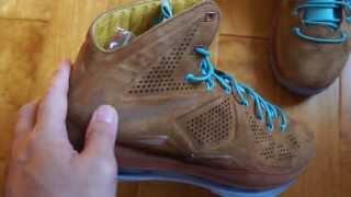 "Gambar cover Nike Lebron X EXT ""Hazelnut/Brown"" Suede"