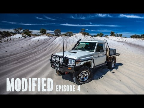 Modified Toyota 79 series Landcruiser single cab, Modified Episode 4