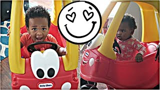 JAXSON AND JAYLA GET A NEW CAR! 🎅🏾🎅🏾👶🏽👶🏾😍 | VLOGMAS DAY #6