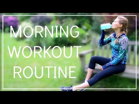 My Morning Workout Routine | Niomi Smart
