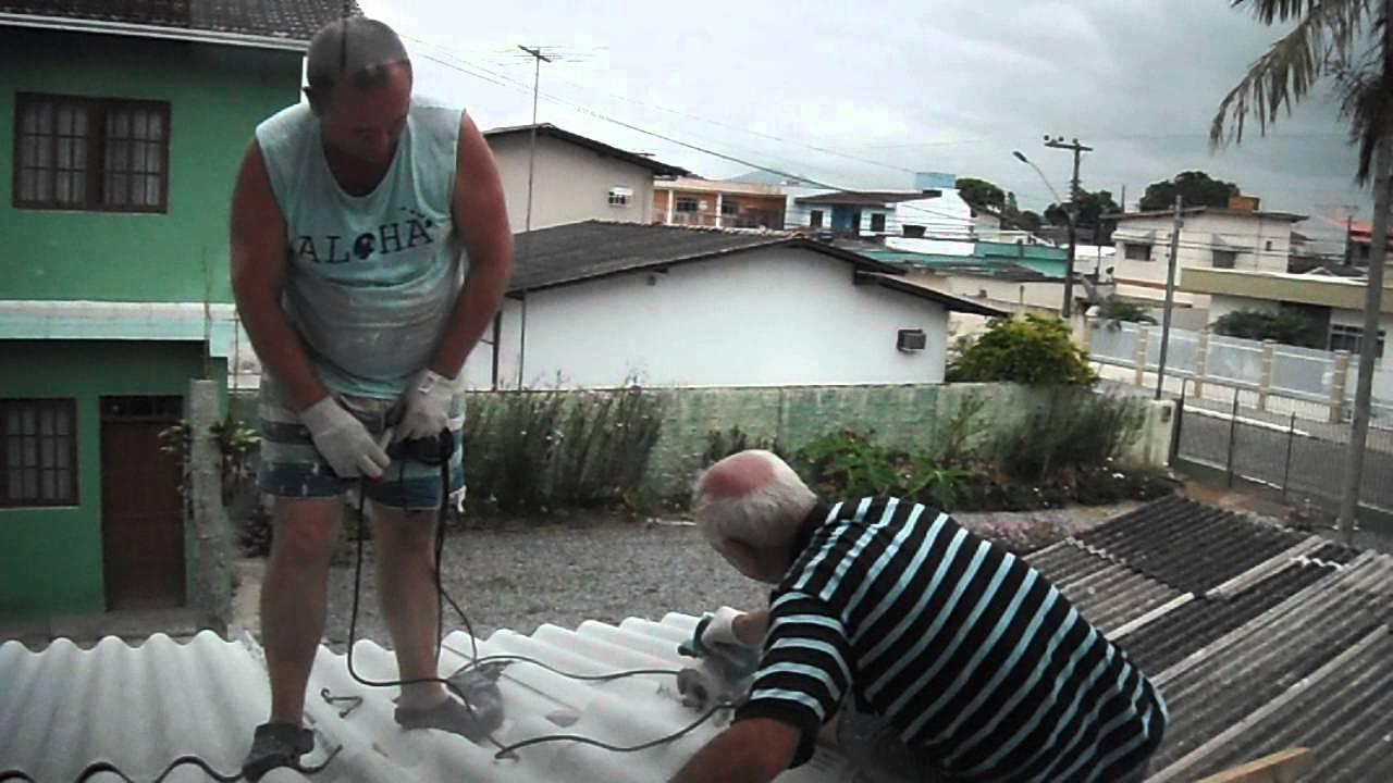 Colocando Telhado Na Garagem Iii Youtube