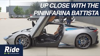 Take a tour of the Pininfarina Battista | Ride Along