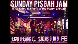 Sunday Jam late set w/ Paper Crowns @ Pisgah Brewing Co. 6-25-2017