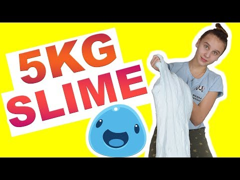 5 Kg Mega Slime , DIY zum selber machen  - Celina